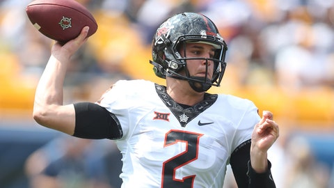 ON THE RISE: Mason Rudolph QB Oklahoma State