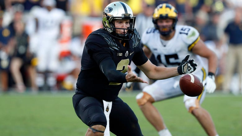 Despite leading at halftime, Boilermakers fall 28-10 to Wolverines