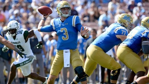 ON THE RISE: Josh Rosen, QB UCLA