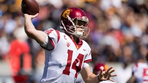ON THE RISE: Sam Darnold, QB USC