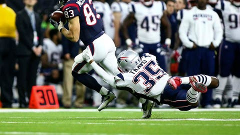 Damarius Travis, CB, New England Patriots