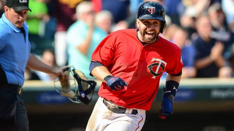 Brian Dozier, Twins second baseman (↑ UP)