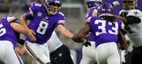 Vikings' offensive line off to 'decent start' protecting Bradford