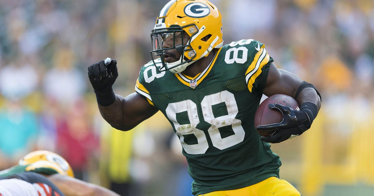 Green Bay Packers RB Ty Montgomery could play Sunday