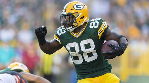 Ty Montgomery, Packers running back (↓ DOWN)