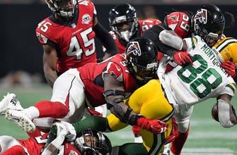 Packers hobble to 34-23 loss in Atlanta