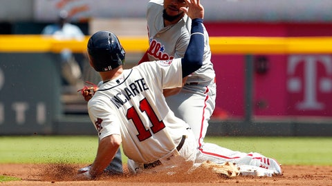 3. The Braves were quite lucky in Year 1 at SunTrust Park