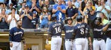 Brewers power past Nationals with big hitting, stellar pitching