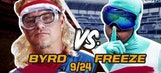 Paul Byrd dominates hype battle, but not race against The Freeze
