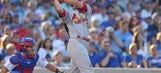 Cardinals' offense quieted in 4-1 loss to Cubs