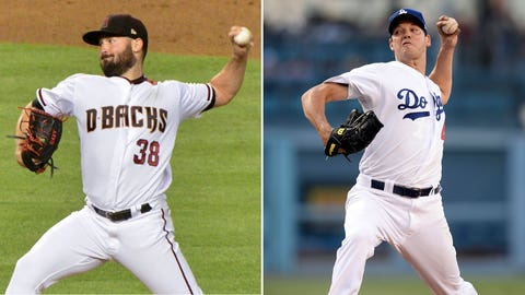 Today's starting pitchers Robbie Ray vs. Rich Hill