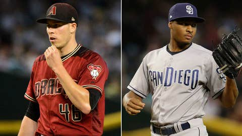 D-backs at Padres, 6:30 pm, FOX Sports Arizona