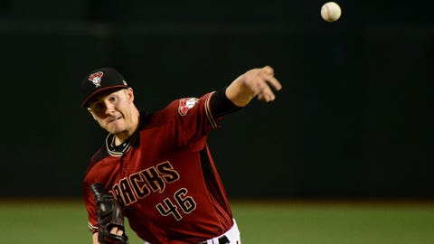 D-backs starting pitcher Patrick Corbin (13-12, 4.16 ERA)