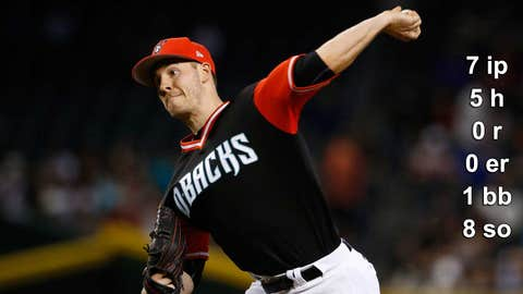 Aug. 27: D-backs 11, Giants 0, Chase Field