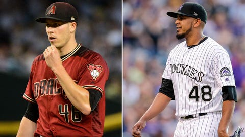 Today's starting pitchers: LHP Patrick Corbin vs. RHP German Marquez
