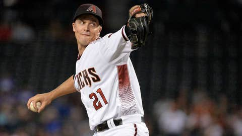 D-backs starting pitcher Zack Greinke (16-6, 3.01 ERA)
