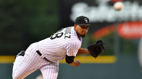 Rockies starting pitcher German Marquez  (10-6, 4.27 ERA)