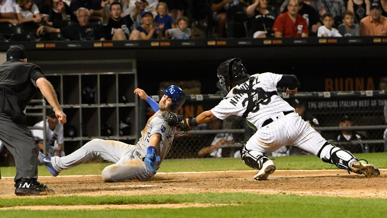 Royals squander early lead, fall 7-6 to White Sox