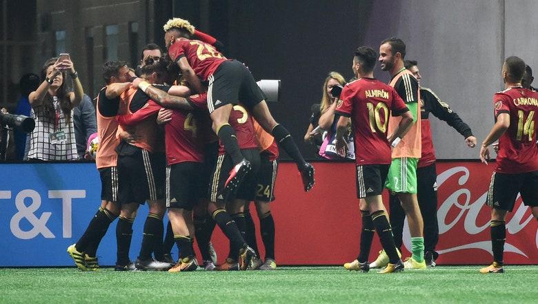 At last: Leandro Gonzalez Pirez opens Atlanta United's new home with long-awaited goal