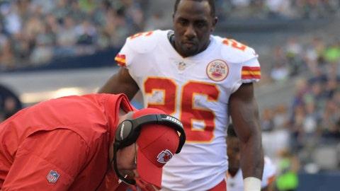 Kansas City Chiefs cut CJ Spiller, Jordan Devey