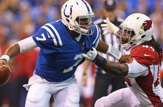 Colts QB Brissett can't let pick affect him in his second chance as starter