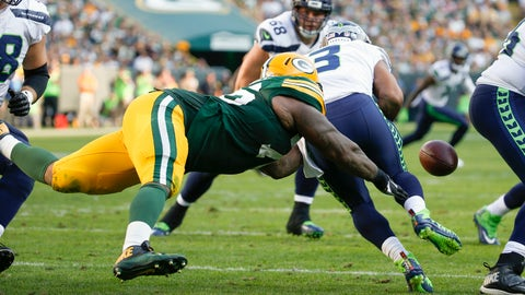 Mike Daniels, Packers defensive tackle (↑ UP)