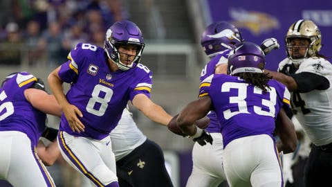 Sam Bradford, Vikings quarterback, and company (↑ UP)