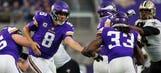 Vikings' Bradford earns first POTW honors with historic Week 1 performance