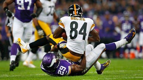 Vikings' Sam Bradford inactive Week 2 against Steelers