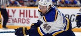 Blues sign Lindbohm to one-year, two-way contract