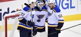 Blues recall goalie Ville Husso from AHL under emergency conditions