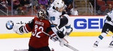 Coyotes fall to Sharks in preseason shootout