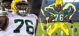 Top Tweets: Packers' Mike Daniels becomes an anime character