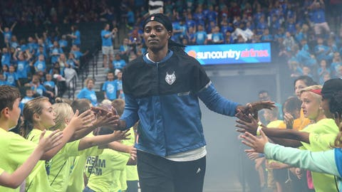 Sylvia Fowles, Lynx center (↓ DOWN)