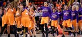Next challenge for Mercury: Defending champion Sparks