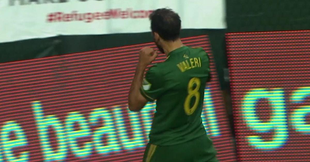 Portland Fans Chant Mvp After Diego Valeri Goal Vs