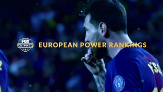 Which team debuts atop our European Power Rankings?