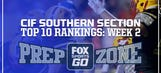 FOX Sports West 2017 HS Football Rankings: Week 2