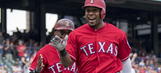 Andrus hits 2 homers, Rangers hang on to beat Angels