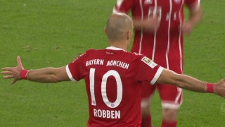 Arjen Robben scores to extend Bayern lead over Wolfsburg