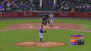 WATCH: A night of RBI doubles for Miguel Rojas
