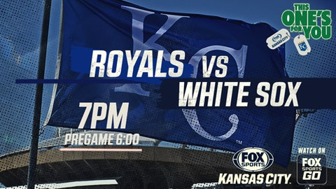 Royals hang on for 4-3 win over White Sox