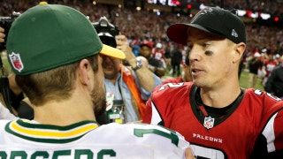 Is Matt Ryan closing the gap on Aaron Rodgers as best NFC QB?