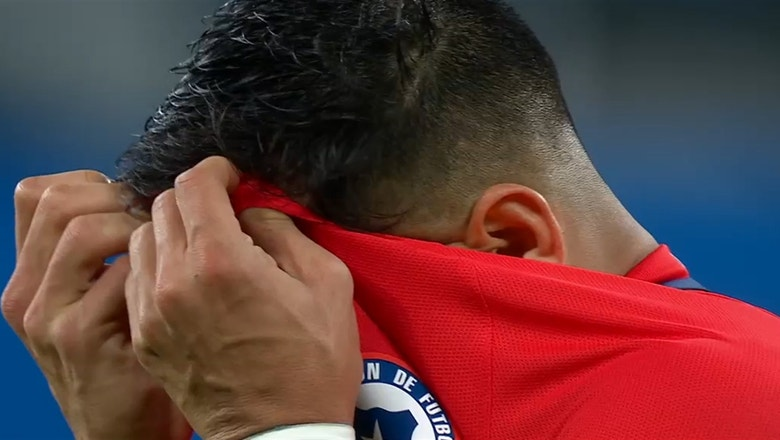 Alexis Sanchez had a tough international break and took to Instagram to vent