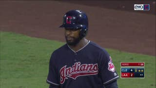 WATCH: Austin Jackson has 4-hit night for Tribe