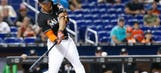 Giancarlo Stanton launches HR No. 52, Marlins crank 17 hits to beat Phillies