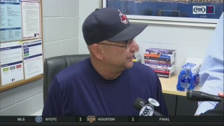 Terry Francona's Deep Purple ringtone briefly interrupts his presser