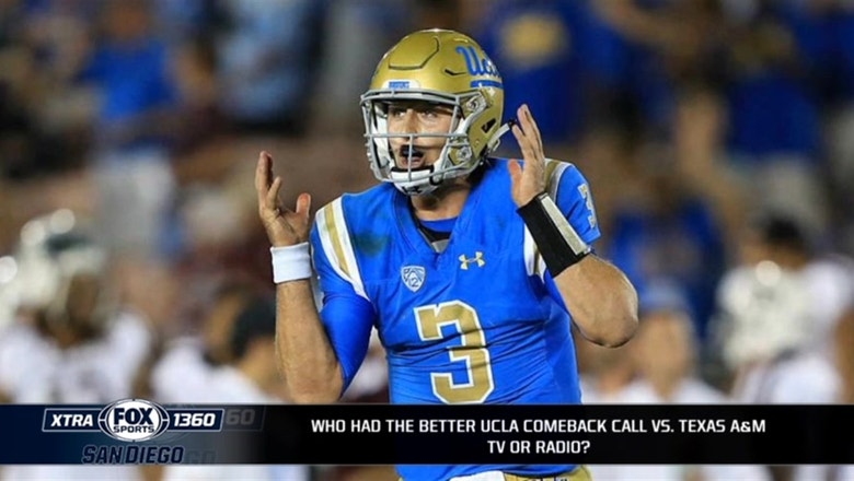 Comeback or choke? How did UCLA complete its historic win over Texas A&M?