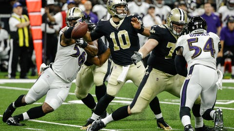NFL: Baltimore Ravens at New Orleans Saints