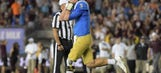 WATCH: UCLA's Josh Rosen fakes a spike and tosses a gem to the back of the end zone in epic comeback